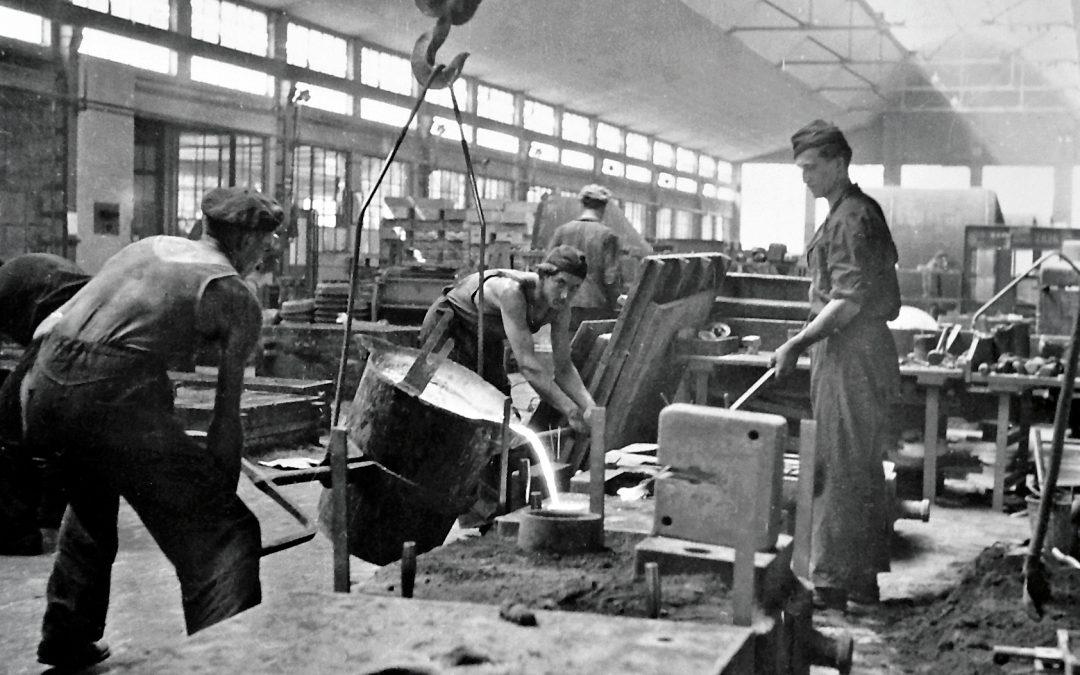 Strojárska výroba zohráva dôležitú úlohu od počiatkov firmy